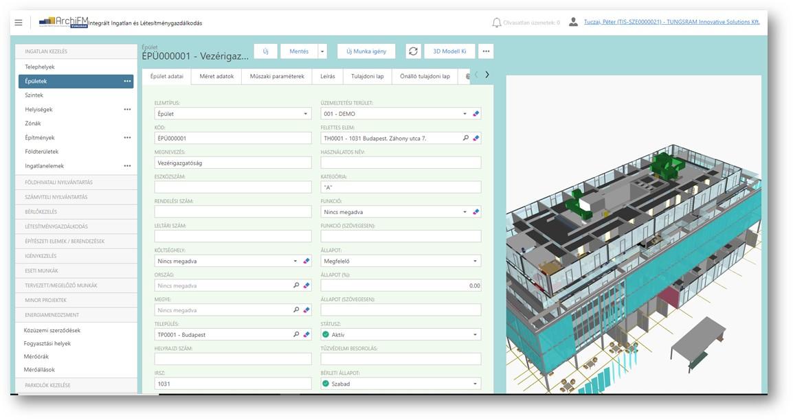 Új ArchiFM szoftver fejlesztés