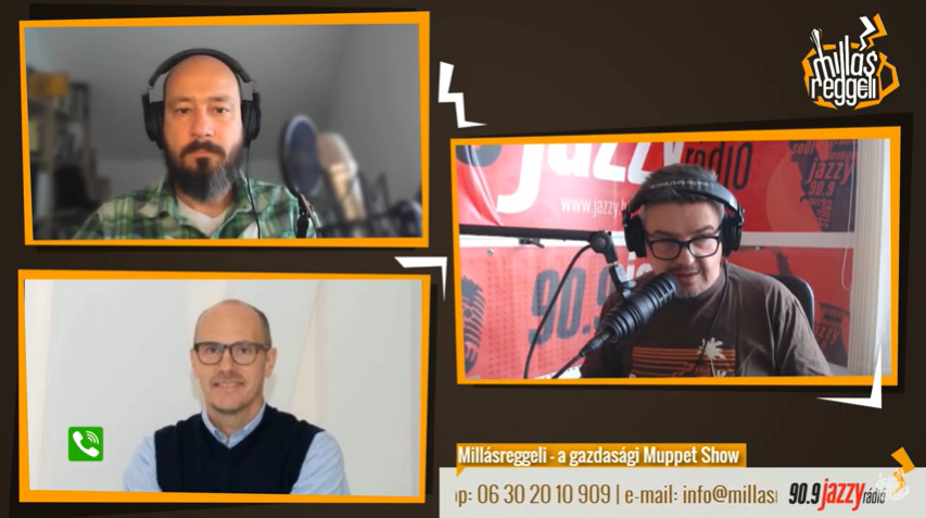 Tungsram Innovative Solutions General Manager Péter Hrobár was interviewed by Jazzy Radio